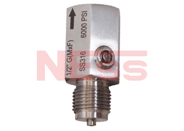 ALL STAINLESS STEEL SNUBBER (PULSATION DAMPENER) - MODEL SN